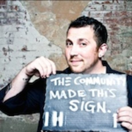 Community sign 150