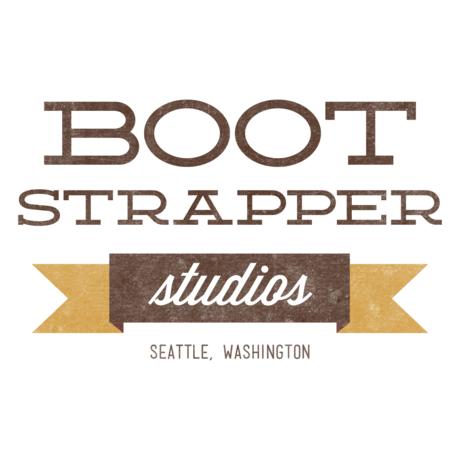 Bootstrapper logo v5 square 1050x1050 white bkg