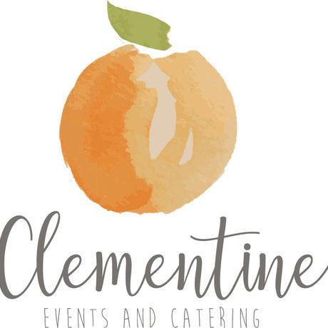 Watercolor clementine