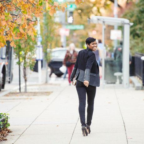 Shakirah walking