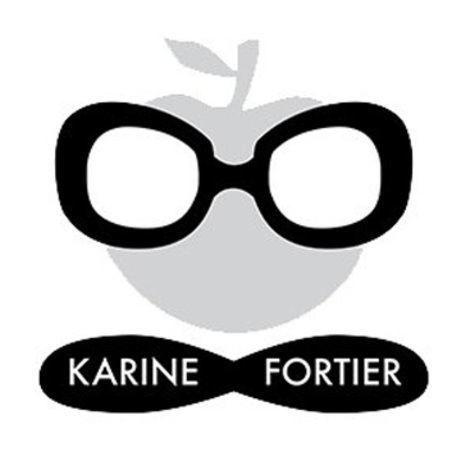 Karine fortier logo