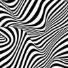 Small messy stripes