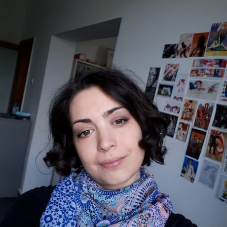 Irina in the tinkout office profile