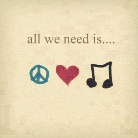 Peace music love