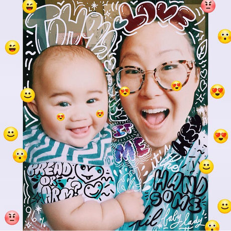 Mamas birthday tohqi doodle