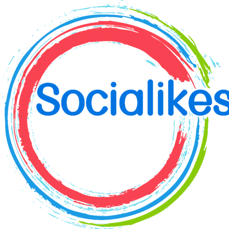 Socialikes logo round
