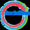 Small socialikes logo round