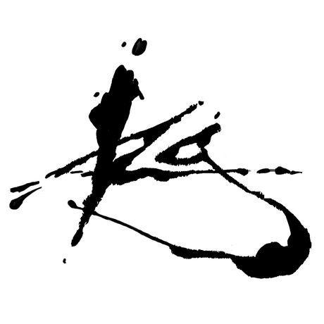 Signature initials