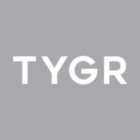 Tygr gray square