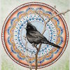 Small bird mandala phainopepla fb image