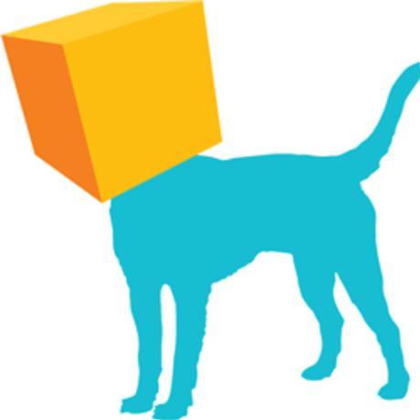 Pixel park   logo dog