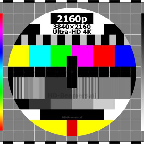 Testbeeld 3840x2160 ultra hd 4k