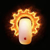 Small burning gear mouse