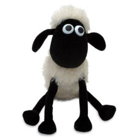 Shivering shaun the sheep soft toy