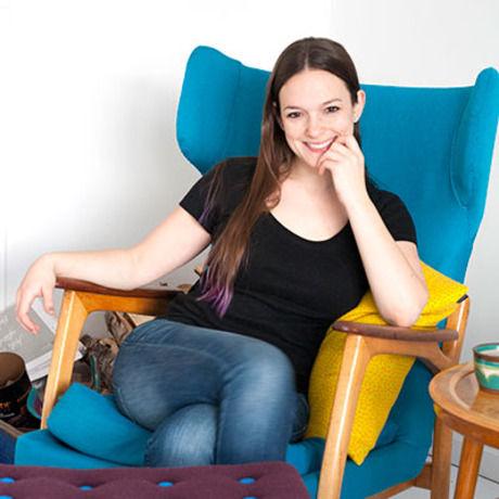 Mikkelpaige headshot blue chair