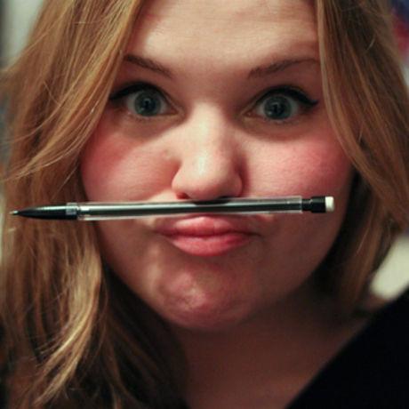 Pencil stache
