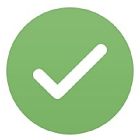 Help advisors checkmark