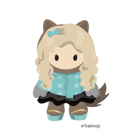 Sam as trailmoji