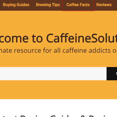 Caffienesolution