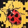 Small sweet ladybug