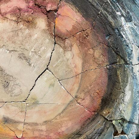 9 concrete painting detail