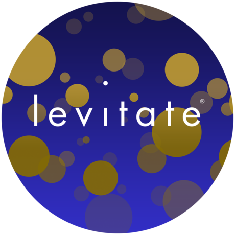 Levitate icon v9.1 with text