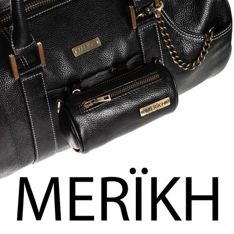 Merikh logo with bag