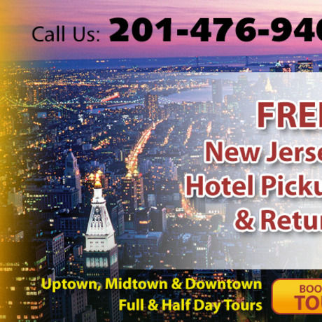 New york tours from nj