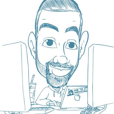Kellyn caricature