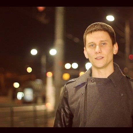 Filming something fresh at  belgrade  streets  night