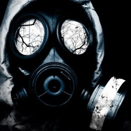 Gas mask series black
