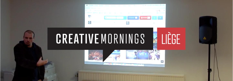 Damien Van Achter | Comment j'ai hacké mes cours | CreativeMornings/LG