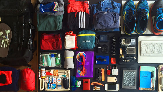 How to pack for a world trip